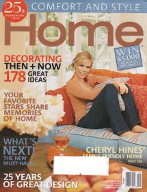 Betty Wasserman featured in the Home magazine