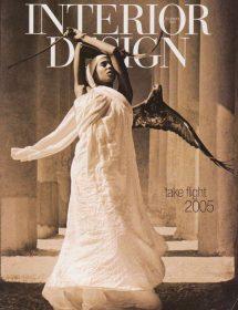 Betty Wasserman Arts & Interiors featured in the Interior Design - Take Flight 2005 magazine