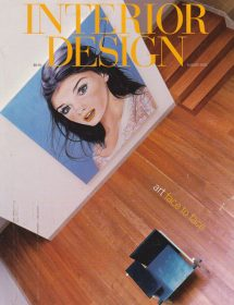 Interior Design featured Betty Wasserman in the August 2002 edition