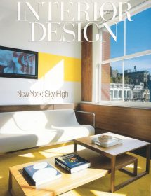 Betty Wasserman Art & Interiors featured in the Interior Design - New York magazine