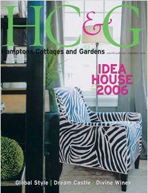 Betty Wasserman featured in the well known interior design magazine - Hamptons Cottages & Gardens