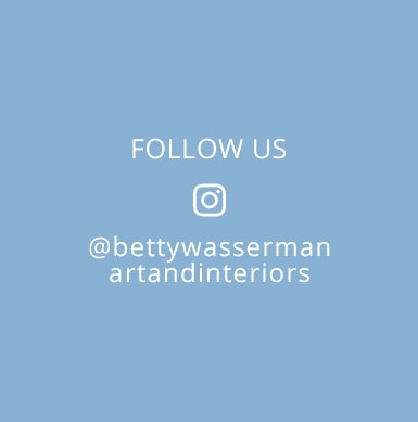 Follow Betty Wasserman's interior designs on Instagram