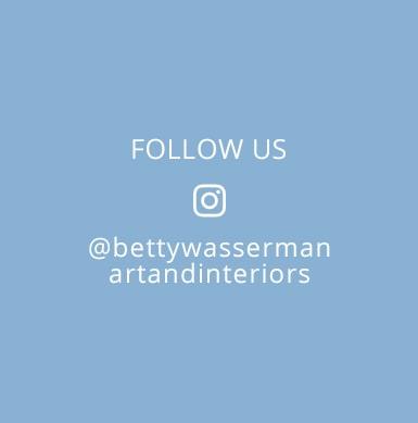Follow Betty Wasserman's interior designs on Instagram