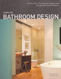 Betty Wasserman featured in the Complete Bathroom Design magazine