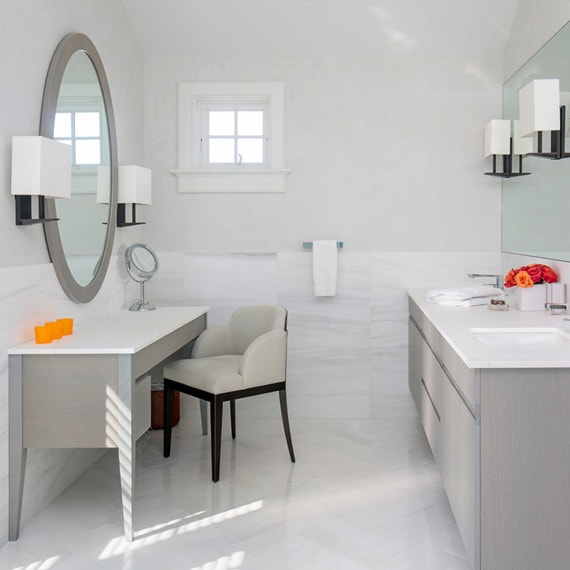Bathroom Interior in Daniels Lane Getaway
