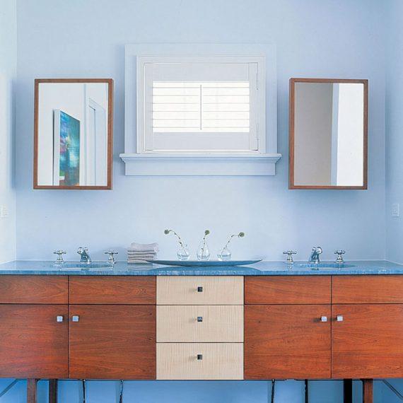 Bridgehampton bungalow bathroom interior design