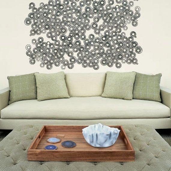 Bridgehampton modern living room interior design
