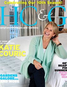 Betty Wasserman featured in the well-known Hamptons Cottages & Gardens magazine