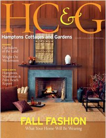 Betty Wasserman featured in the Hamptons Cottages & Gardens magazine