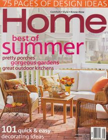 Betty Wasserman featured in the Home - Best of Summer magazine