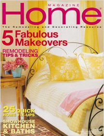 Home magazine featured Betty Wasserman in the May 2003 edition