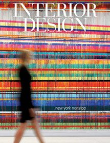 Betty Wasserman featured in the Interior Design magazine