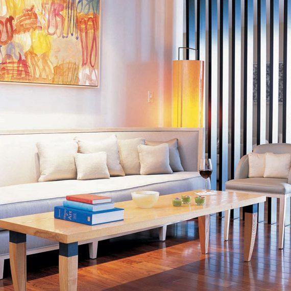 Jersey living room interior design