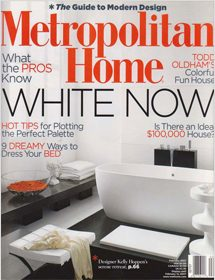 Betty Wasserman featured in Metropolitan Home magazine