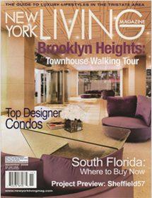 Betty Wasserman interior designs featured in the New York Living Magazine