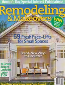Betty Wasserman featured in Remodeling & Makeovers Magazine