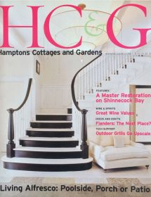 Hamptons Cottages & Gardens magazine featured Betty Wasserman