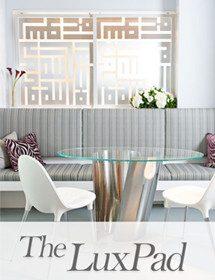 Betty Wasserman featured in the Luxpad interior design magazine