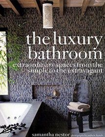 Betty Wasserman interior designs featured in the Luxury Bathroom magazine