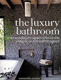 Betty Wasserman interior designs featured in the Luxury Bathroom magazine