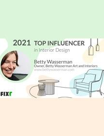 Betty Wasserman Top Interior Design Influencers 2021